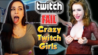 The BEST Twitch Girl Fails 2017 of ULTIMATE Twitch Fails Compilation 2017 ft. CinCinBear, Alinity