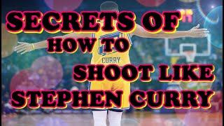 Stephen Curry shooting form NBA shooters breakdown how to shootlike Stephen Curry