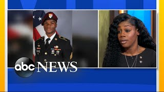 Gold Star widow speaks about phone call with Trump