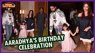 Bachchans Celebrate Aaradhya's 6th Birthday | Bollywood News