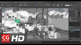 """CGI 3D Tutorial HD: """"Creating An Ancient Persian City in 3D"""" Part 1 by Mike Stoliarov"""
