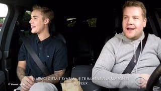 Justin Bieber - Carpool Karaoke Vol 1 [VOSTFR] 1/3