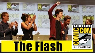 The Flash | Comic Con 2015 Full Panel (Grant Gustin, Candice Patton, Danielle Panabaker)