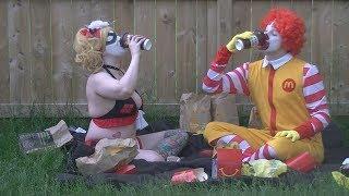 When Ronald McDonald met Harley Quinn