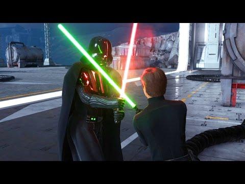 Xxx Mp4 Star Wars Battlefront Darth Vader Vs Luke I AM YOUR FATHER 3gp Sex
