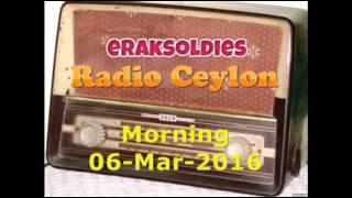Radio Ceylon 06-03-2016~Sunday Morning~02 Purani Filmon Ka Sangeet