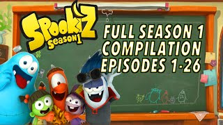 🌟  Spookiz  🌟 | ★ FULL EPISODE 1-26 SEASON 1 COMPILATION | (Season 1) ★ Cartoons for Children