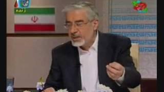 وقتی میرحسین موسوی عصبانی می شود