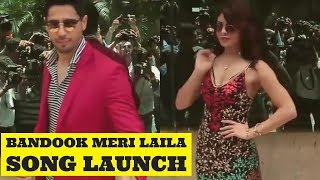 Bandook Meri Laila | Song Launch |  A Gentleman | Sidharth Malhotra And Jacqueline Fernandez