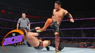 Rich Swann & Akira Tozawa vs. Noam Dar & The Brian Kendrick: WWE 205 Live, April 25, 2017