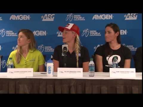 Pre-race Press Conference Interview: Allie Dragoo