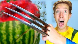 5 X-Men Weapons vs Fruit Ninja