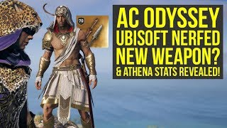 Assassin's Creed Odyssey Dionysos Pack NEW ARMOR & Athena Pack Stats REVEALED (AC Odyssey Dionysos)