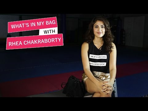 Xxx Mp4 What S In My Bag With Rhea Chakraborty Pinkvilla S01E05 Bollywood Lifestyle 3gp Sex