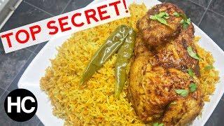AUTHENTIC CHICKEN MANDI RECIPE - SMOKEY RICE & CHICKEN - How to make Chicken Mandi - Halal Chef