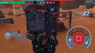 TEST SERVER // New weapon: Dragoon , New Bots : HELL BURNER / MICRO DASHER / TERMINATOR