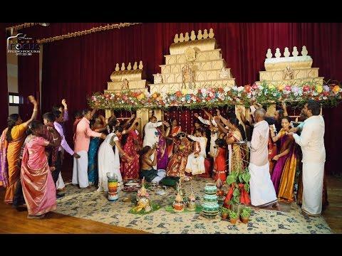 HIGHLIGHTS TAMIL WEDDING DAY THUSHAN + VARSHEY Hatton, Sri Lanka.