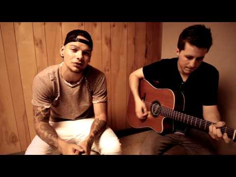 "Kane Brown - ""Almost Home"" by Craig Morgan (acoustic) backstage @ Countryfest 2016"