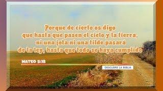 20_Mateo_5:18 Porque de cierto os digo que hasta que pasen el cielo y la tierra,,,