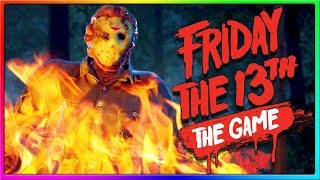 I GOT TRICKED BY MY FRIENDS! | Friday the 13th Game Jason & Counselor Gameplay
