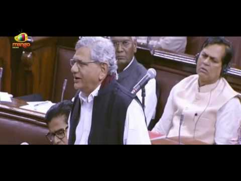 Don't Teach us Patriotism | Sitaram Yechury on HCU and JNU Row | Mango News