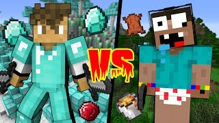 STUPID Noob VS LEGENDARY Pro - Minecraft Machinima