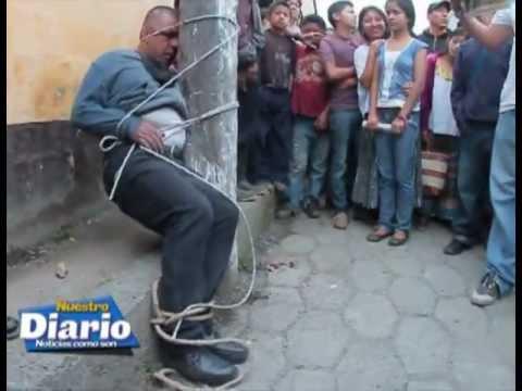 Cuatro asaltantes se salvan de morir linchados en Tactic Alta Verapaz