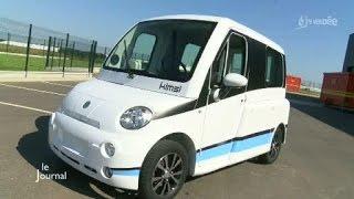 Kimsi: La voiture qui se conduit en fauteuil roulant (Vendée)