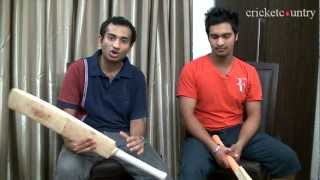 Mandeep Singh explains what a professional cricketer's kit-bag contains