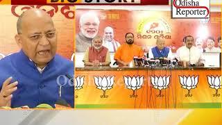 BJP target Odisha govt
