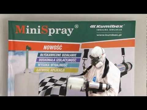 Pianka poliuretanowa - najmniejsze urządzenie do aplikacji pianki PUR - Mini Spray Kumibex