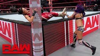 Sasha Banks vs. Bayley - Winner Earns the Final Place on Team Raw: Raw, Nov. 12, 2018