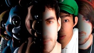 FIVE NIGHTS AT FREDDY'S + YOUTUBERS = SUSTOS Y GRITOS (Especial Halloween parte 1/2)