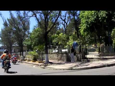 Driving in Tegucigalpa Honduras