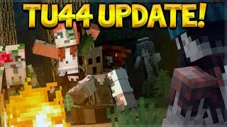 TU44 OUT NOW! Minecraft Console Edition - Title Update 44 Changes - Halloween Special + Map Pack DLC