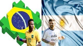 মহা লড়াইয়ে মুখোমুখি হচ্ছে ব্রাজিল  আর্জেন্টিনা -খেলাটি শুরু হব যখন | Brazil vs Argentina Match Today