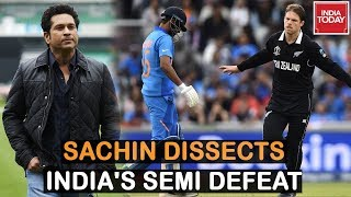 Sachin Tendulkar Dissects India's Defeat Against New Zealand In Semis | Indian Today Exclusive