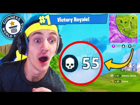 Top 5 Fortnite WORLD RECORDS You Can NEVER Beat Fortnite Ninja World Record Kills & More