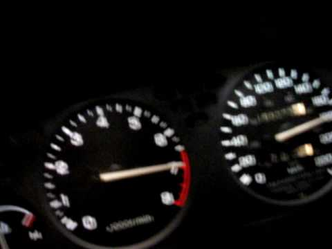 Integra 92 LS stock internal turbo at 10psi  0 to 190km/h