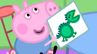 Peppa Pig Episodes - Back to School Compilation (new!! 2017) - Cartoons for Children