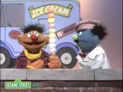 Sesame Street Ernie s Ice Cream Cone