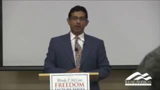 Elitist Professor Schooled By Dinesh D'Souza