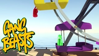 Gang Beasts - Ferris Wheel Explosion [Father and Son Gameplay]