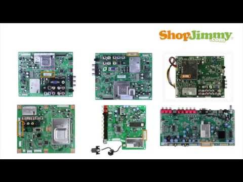 STEP #1 - Insignia Main Boards Replacement TV Part Number Identification Guide
