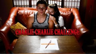 CHARLIE CHARLIE CHALLENGE REAL?!? (WORKS!)