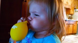 FUNNY TODDLERS and BABIES that will make you LAUGH - ADORABLE BABIES Love Balloons Compilation 2018