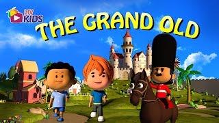 The Grand Old Duke of York with Lyrics   LIV Kids Nursery Rhymes and Songs   HD