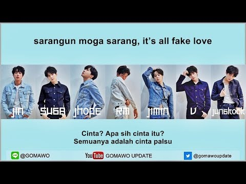 Xxx Mp4 Easy Lyric BTS FAKE LOVE By GOMAWO Indo Sub 3gp Sex