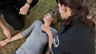 How to Help Someone Who Has Fainted   First Aid Training
