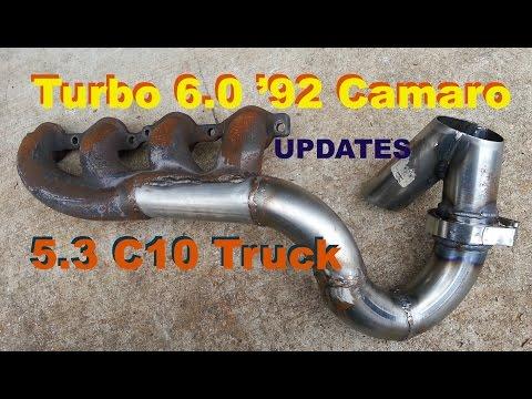 Updates on Turbo 6.0 '92 Camaro & 5.3 C10 Truck, Coolant Gauge LS Swap